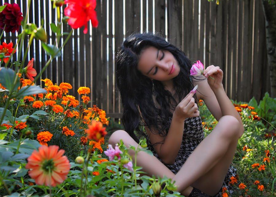 regalar flores a la persona amada