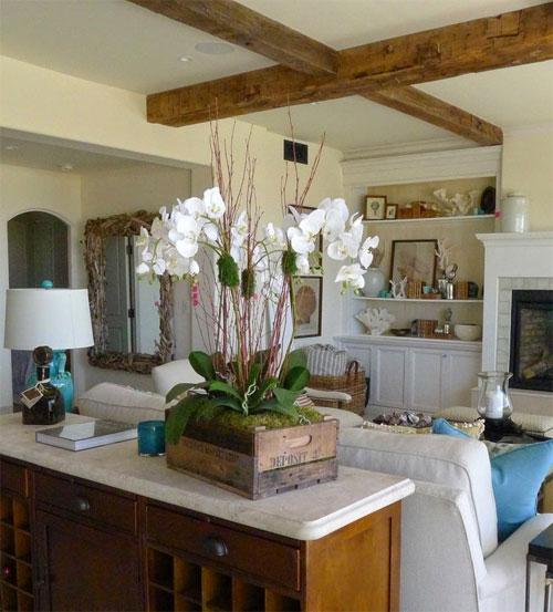 Ideas originales para decorar con flores flores a - Adornos florales para casa ...
