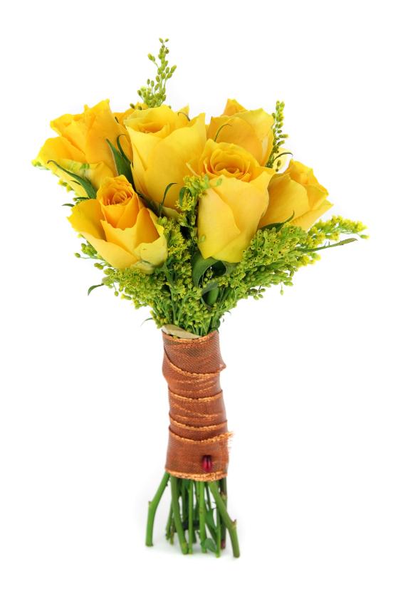 Ramo De Rosas Amarillas 6 Rosas A Domicilio Con Flores4you