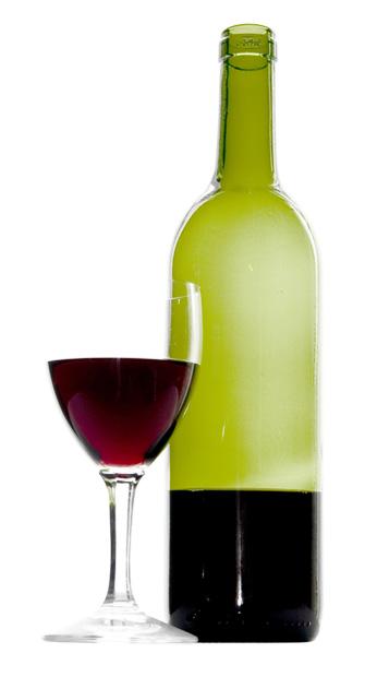 Botella vino tinto a domicilio con flores4you - Botelleros de vino ...