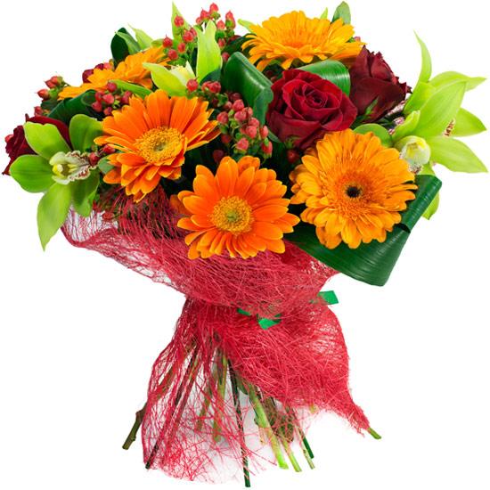 Ramo de flores confianza a domicilio con flores4you - Fotos jarrones con flores ...