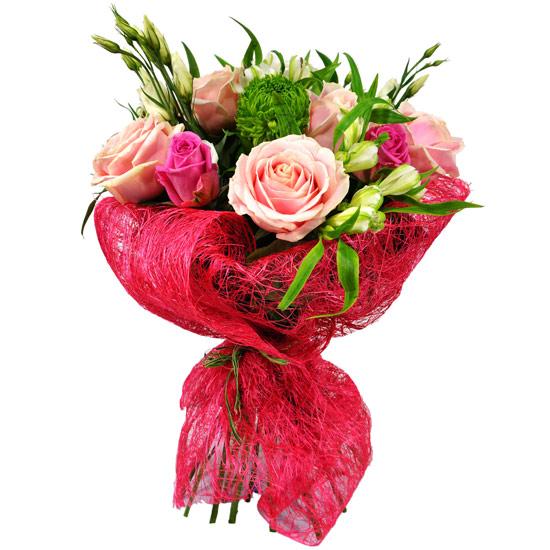 Ramo de rosas y crisantemos a domicilio con flores4you - Ramos de flores modernos ...