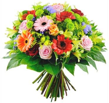 Ramo de flores variado a domicilio con flores4you - Como secar un ramo de rosas ...